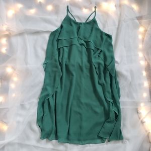 BCBG Ruffle Dress